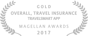 Allianz - 2017 Magellan Gold Award Best Overall, Travel Insurance for TravelSmart App