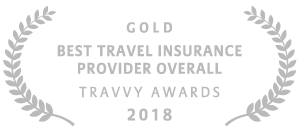 Allianz - 2018 Gold Travvy Award for Best Travel Insurance Provider Overall