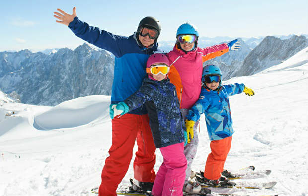Allianz - Family ski mountain