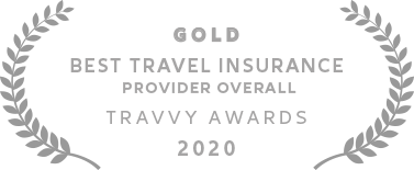 Allianz - Gold Travvy Award for Best Travel Insurance Provider Overall in 2020